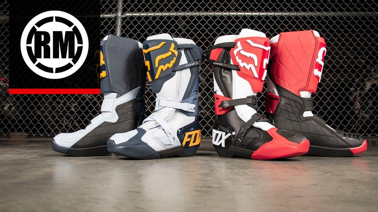 eabd4f43b2a Fox Racing Comp R Motocross Boots