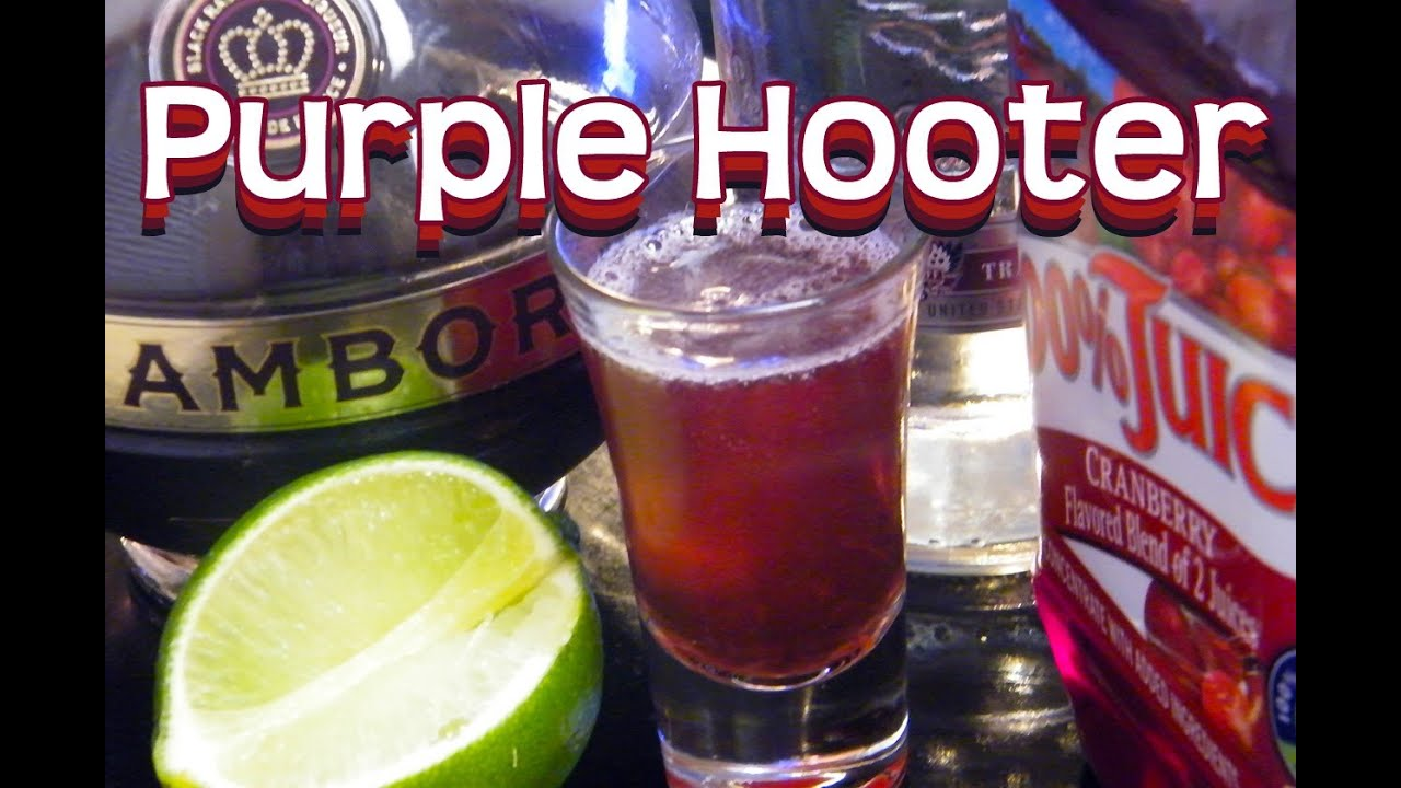 Purple Hooter Drink How To Make
