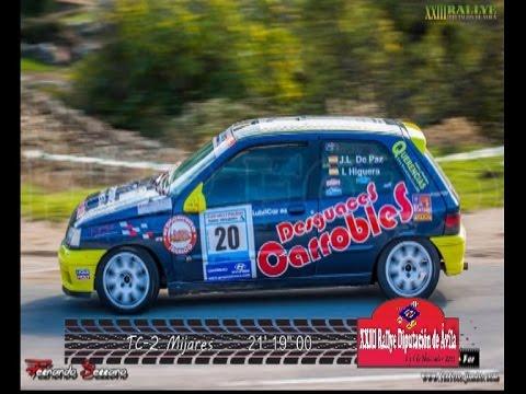 XXIII Rallye Diputación de Avila  2016 TC-2 Mijares J.L.De Paz/I.Higueras (Renault Clio 16v)