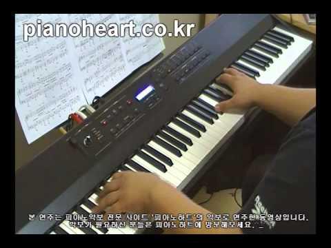 더원(The One) - 겨울사랑(Winter Love) 그 겨울, 바람이 분다 Ost Piano Cover,RD-700NX