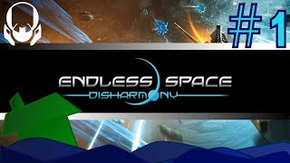 Endless Space: Disharmony - Tutorial! - Ep 1: Travel, Races, Getting Started