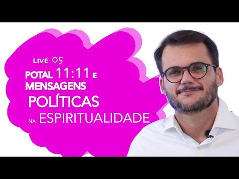 🔵Live 05  🎇Tema Portal 11:11 E Mensagens Políticas Na Espiritualidade