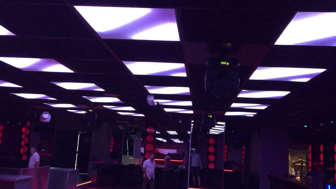Decoration Discotheque Panneaux Led Mapping Madrix Club Concept