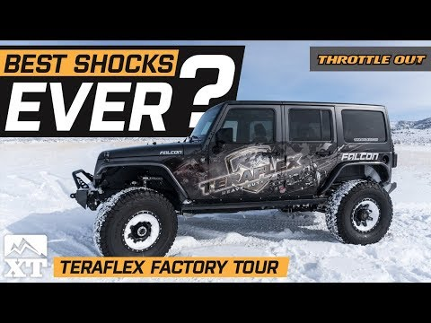How Falcon Shocks Are Made | Inside Look At Teraflex's Production Facility  -  Throttle Out