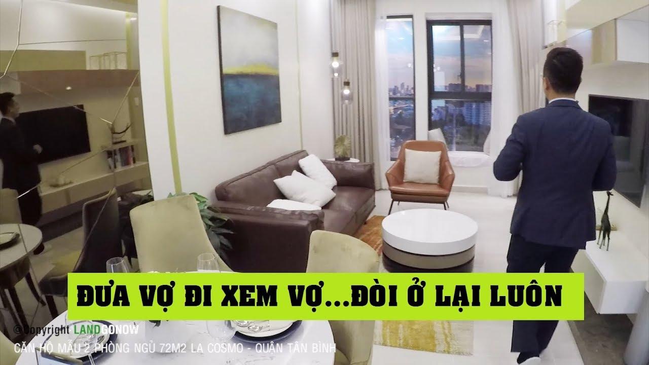 Căn hộ nhà mẫu La Cosmo 2 phòng ngủ 72m2, Quận Tân Bình – Land Go Now ✔