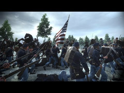 BLOODY LINE BATTLES IN THE SNOW! EMPIRE TOTAL WAR: AMERICAN CIVIL WAR: CAMPAIGN EP. 1