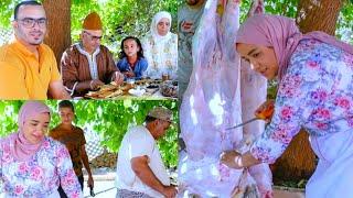 مبروك العيد🤗 أجواء عيد الأضحى مع عائلة لالة حادة