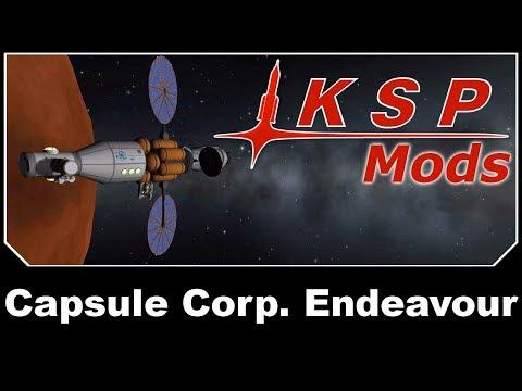 KSP Mods - Capsule Corp. Endeavour