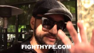 sergio mora calls out hbo s jim lampley for bias says he s too opinionated it needs to stop