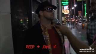 Intoxicated Talk Talks Drugs on Hollywood Blvd.