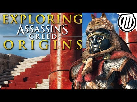 Exploring Assassin's Creed Origins HUGE Open World
