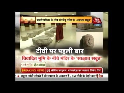 First Time On TV | रामजन्मभूमि के नीचे दबे हिंदू मंदिर के Exclusive सबूत!