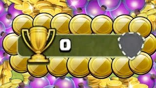 """Clash of Clans - """"FARMING AT 0 TROPHIES"""" EXTREME FARMING AT THE VERY BOTTOM OF CLASH"""