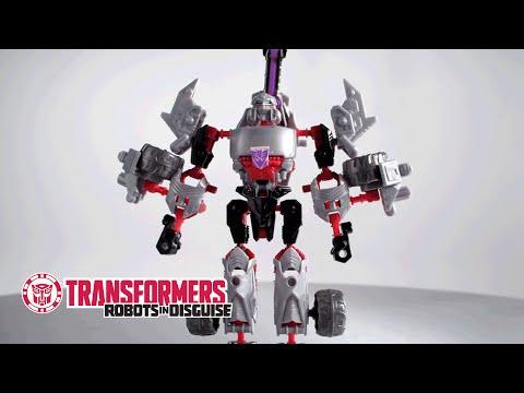Transformers Construct-Bots - Megatron - Instructional Video