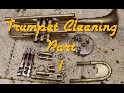 Trumpet Cleaning part 1