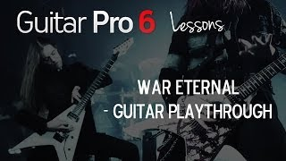 "How to Play ""War Eternal"" by Arch Enemy"