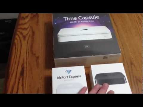Apple Time Capsule, Apple TV, And Apple Base Station - Review - Part 1