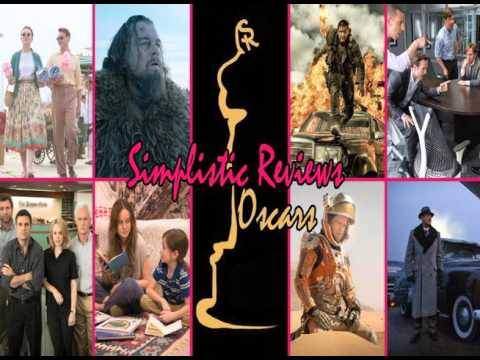 Simplistic Reviews 2016 Oscar Prediction Podcast (Ep. 65)