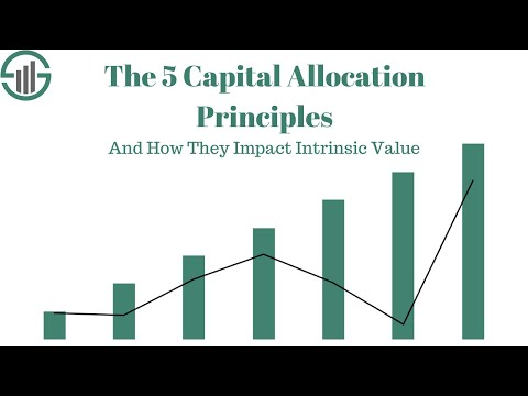 The 5 Capital Allocation Principles & How They Impact Intrinsic Value