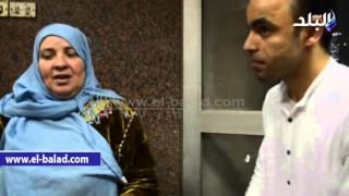 بالفيديو ..الحاجة عزة : ' حلم عمرى تحقق بعد مصافحة الرئيس السيسي '