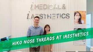 Beauty Blogger Karen tries Korea's hottest new HIKO Nose Threads