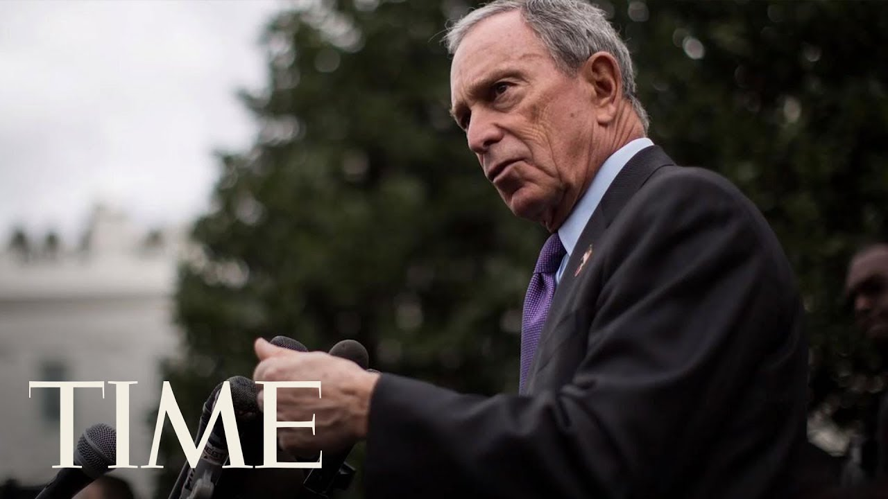 Bloomberg opens door to a 2020 Democratic presidential bid