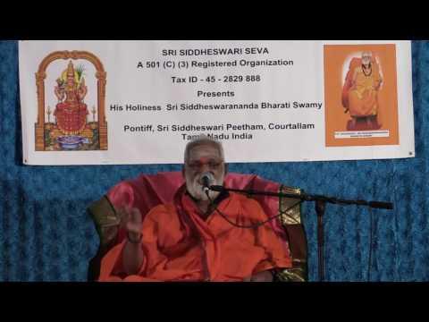 Courtallam Siddeswarananda Bharati Swamy Pravachanalu 2
