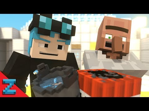 DANTDM PRANKS DR. TRAYAURUS! | The Diamond Minecart | (Minecraft Animation)