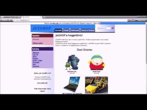 PHP JetShop Kurulumu - Php Scriptler - Script Kurulumu
