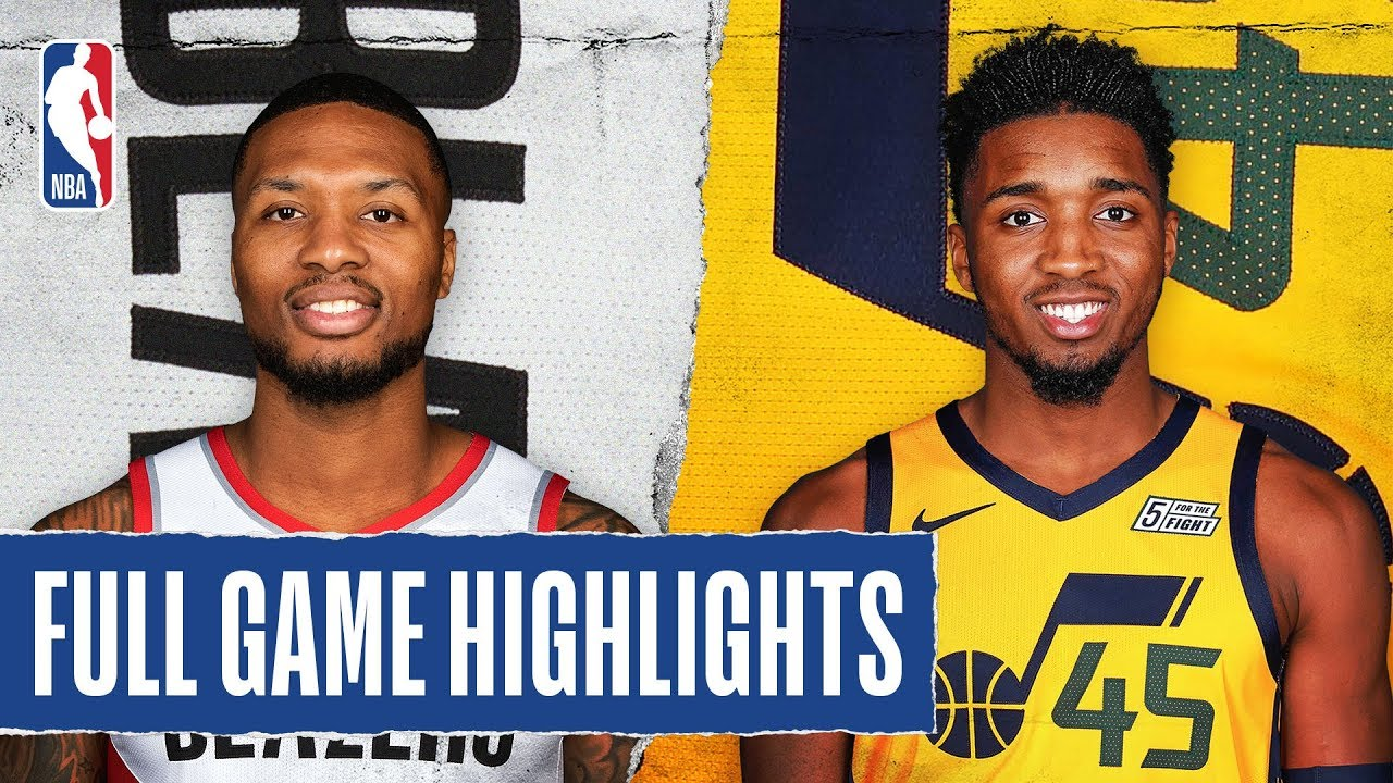 TRAIL BLAZERS at JAZZ   FULL GAME HIGHLIGHTS   December 26, 2019