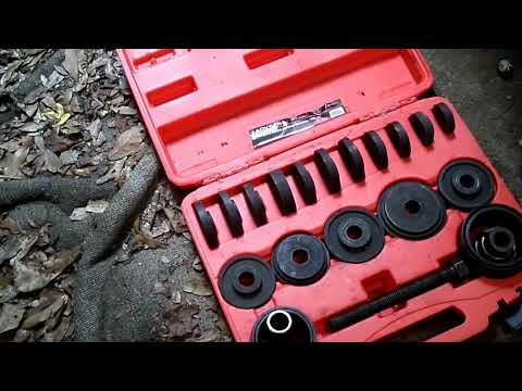 1995-2001 Honda CRV Rear Wheel Bearing replacement #CRV #EFAddict #Hondacrv