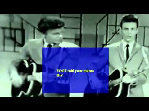 everly brothers   wake up little suzie lyrics