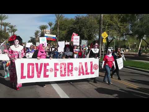 Thousands join Women's March 2019 in Phoenix