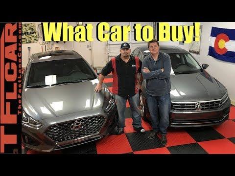 what car should i buy 2018 hyundai sonata or vw passat youtube. Black Bedroom Furniture Sets. Home Design Ideas