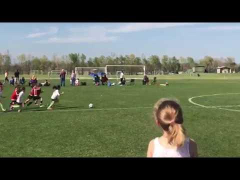 Amelia first goal scored