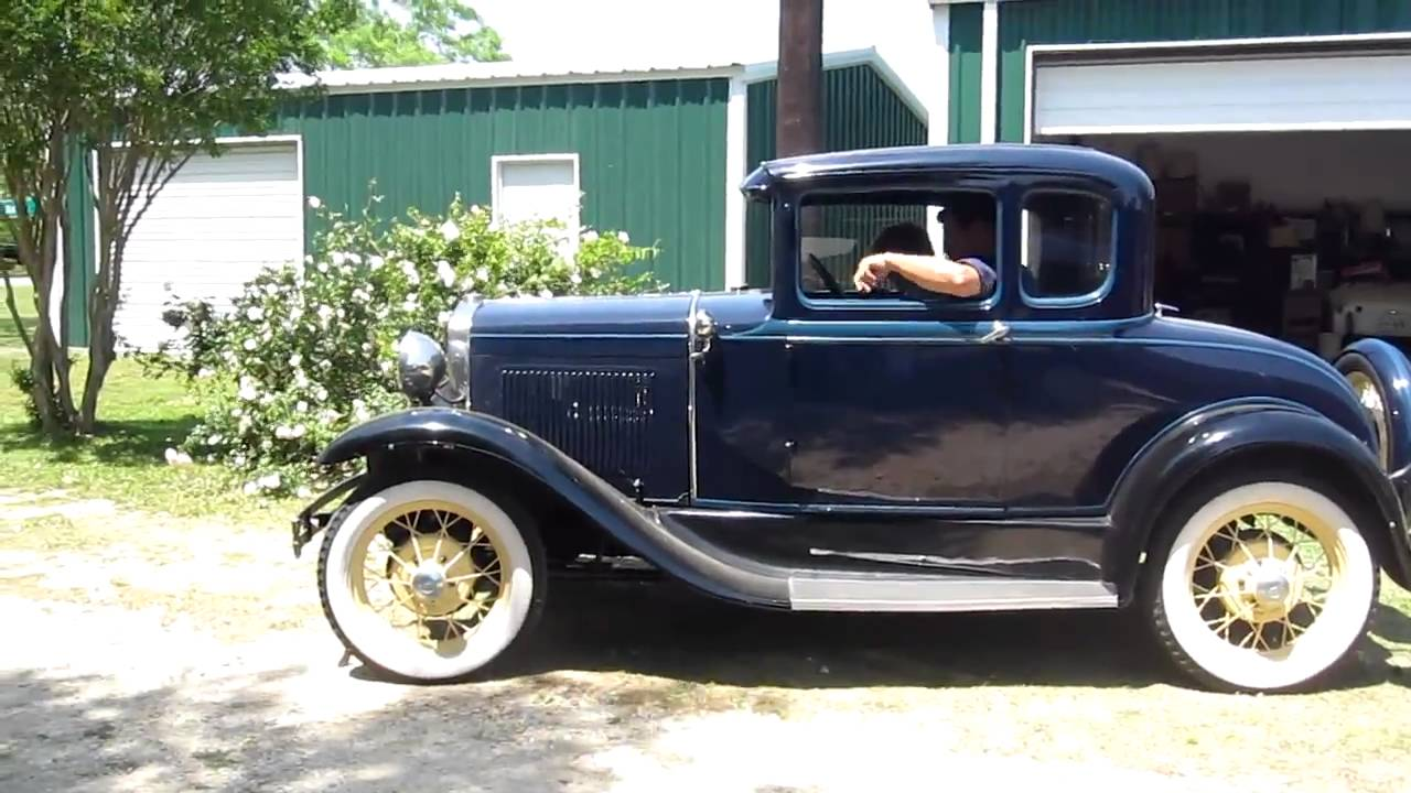 1931 model a ford deluxe coupe youtube. Black Bedroom Furniture Sets. Home Design Ideas