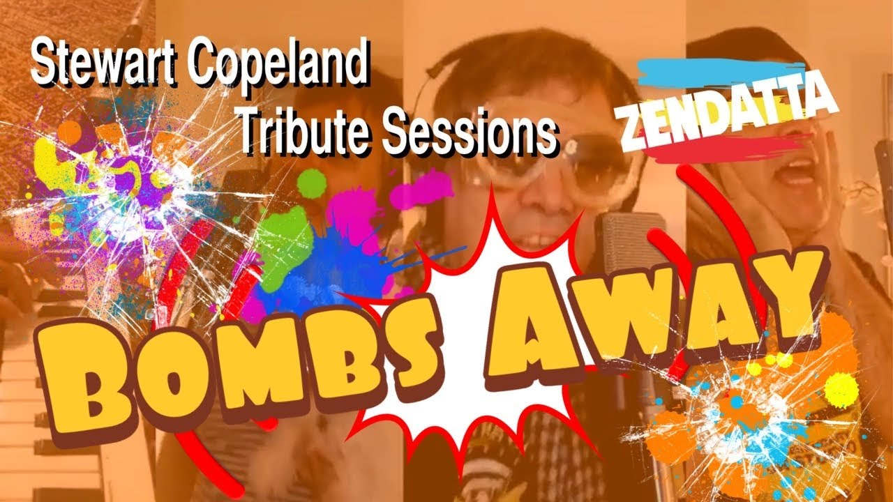 The Police - Bombs Away - (Cover by Zendatta) Tribute to Stewart Copeland