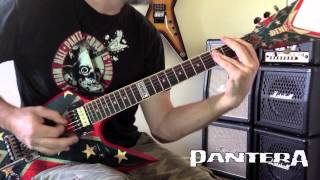 Pantera - Domination/Hollow Live Guitar Cover