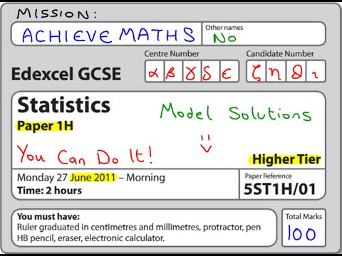 edexcel statistics gcse coursework 2011 Edexcel, a pearson company, is the uk's largest awarding organisation offering academic and vocational qualifi cation and testing to schools, colleges, employers and other places of learning here and in over 85 countries worldwide.