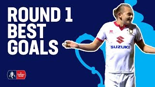 The Best Goals from Round 1! | Emirates FA Cup 2017/18
