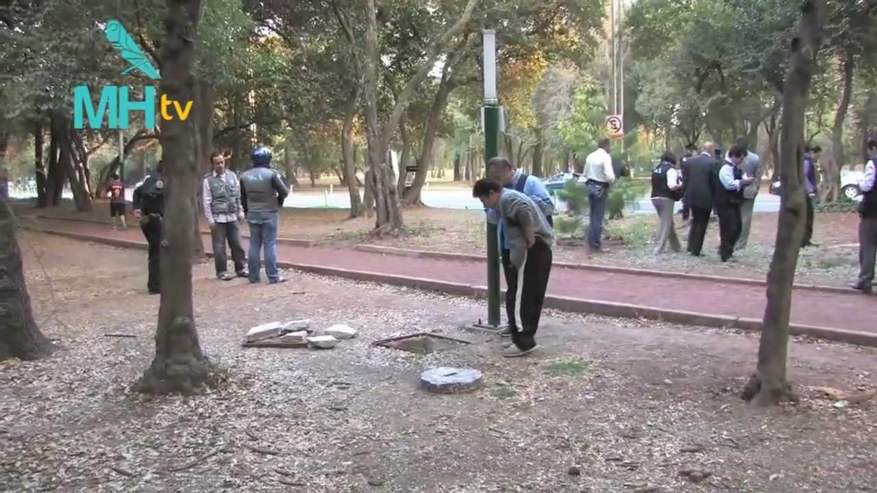 Circuito Gandhi : Mh participa en captura de un presunto ladrón de cable del circuito