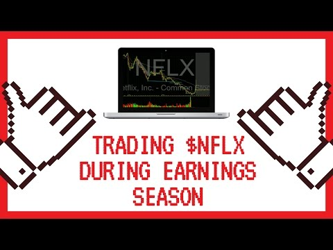 Trading $NFLX Netflix During Earnings Season  $1000 Days