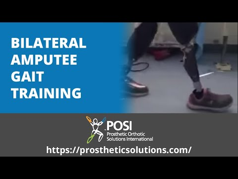 Bilateral Amputee Gait Training