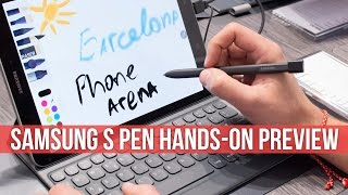 Samsung S Pen hands-on preview: the most advanced yet!