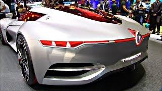 Renault и Citroen представили суперкары будущего на автошоу в Париже (новости)