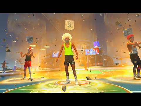 THE BEST BUILD ON NBA 2K22 PLAYS 1ST PARK GAME AND DOMINATES!