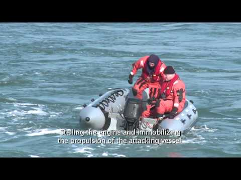 P-Trap® Passive Non-Lethal Anti-Piracy System for Ships.mp4