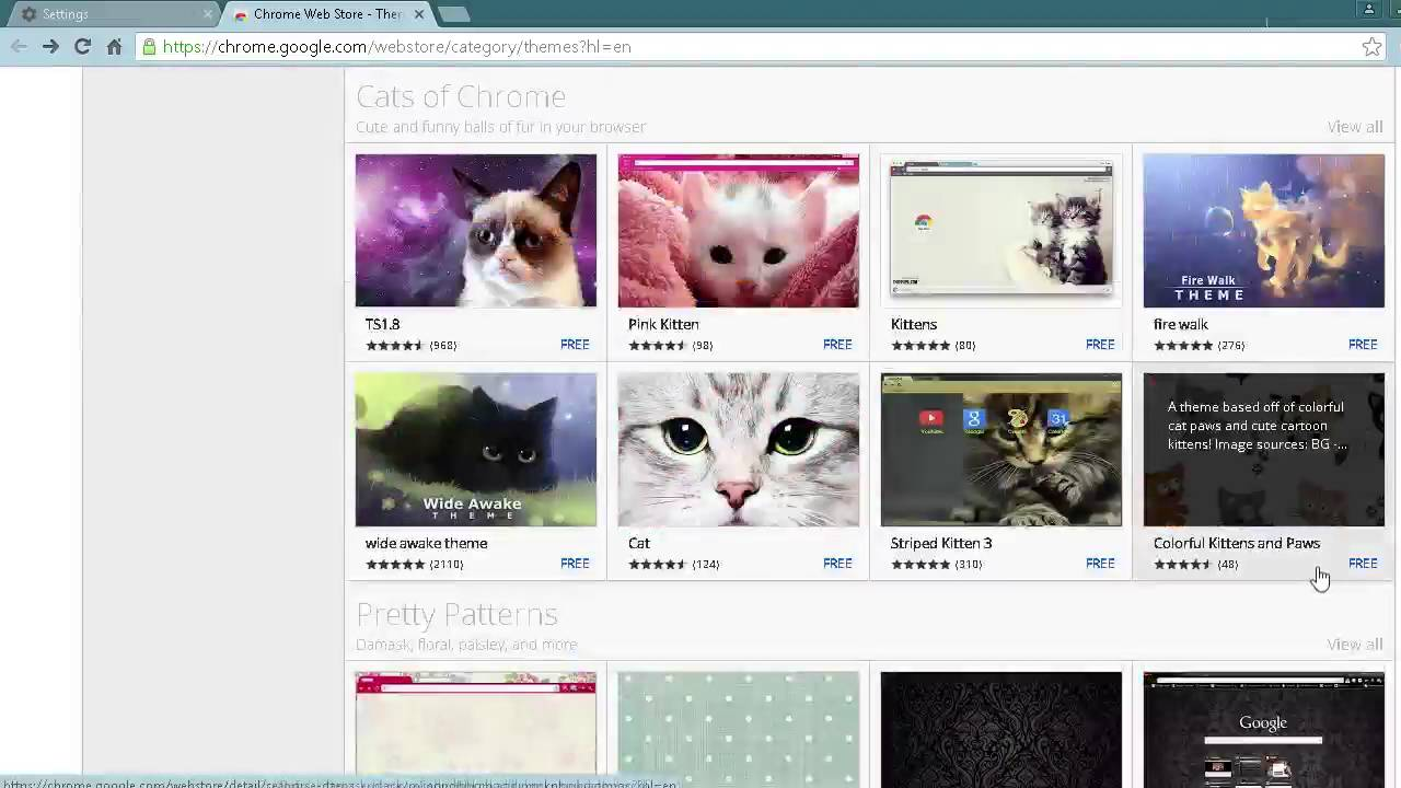 Google themes kittens - How To Change Chrome Background 2016