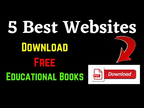 Five Best Websites To Download Educational Pdf For Free || Pdf Or Ebook Download Free ||