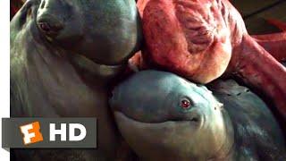 Monster Trucks (2017) - Creech's Family Scene (7/10) | Movieclips